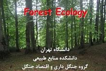 دانلود جزوه اکولوژی جنگل دانشگاه تهران