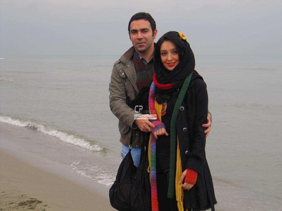 هیلدا خسروی و همسرش