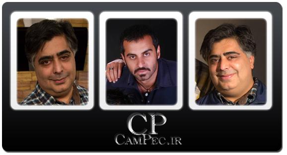 عکس های جدید رضا شفیعی جم و علیرام نورایی