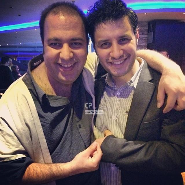 جواد عزتی و علی اوجی