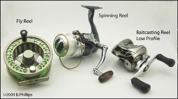 انواع چرخ ماهیگیری
