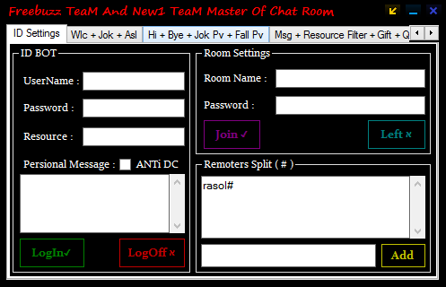 Freebuzz TeaM And New1 TeaM Master Of Chat Room 1234564