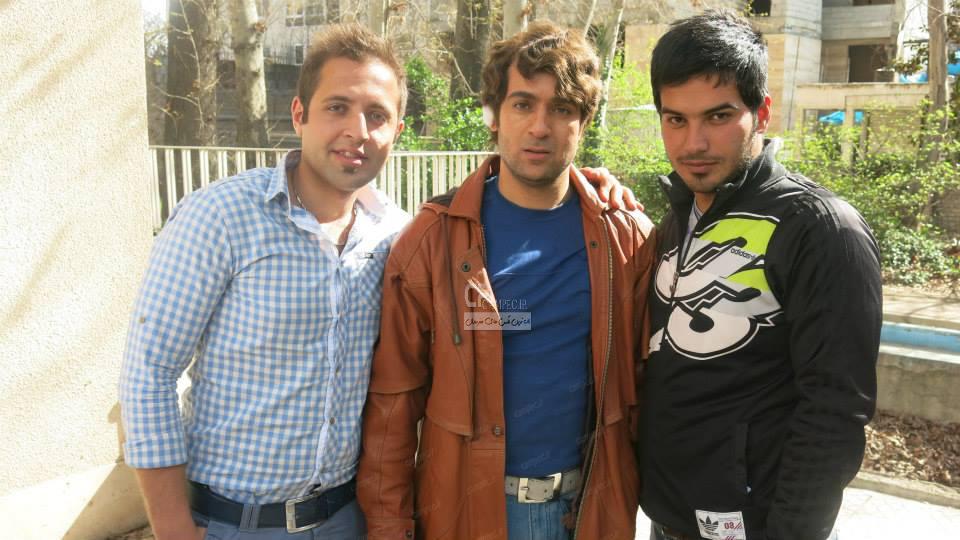 احمد مهران فر در پشت صحنه سریال پایتخت3