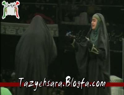 شبیه خوانی مجلس شهادت حضرت زهرا
