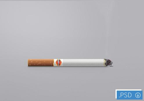 لایه باز سیگار