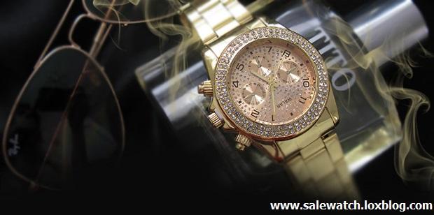 خرید ساعت مچی مردانه رولکس طلایی