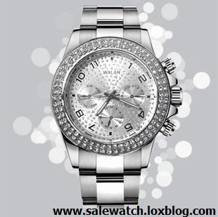 خرید ساعت مچی مردانه رولکس نقره ای
