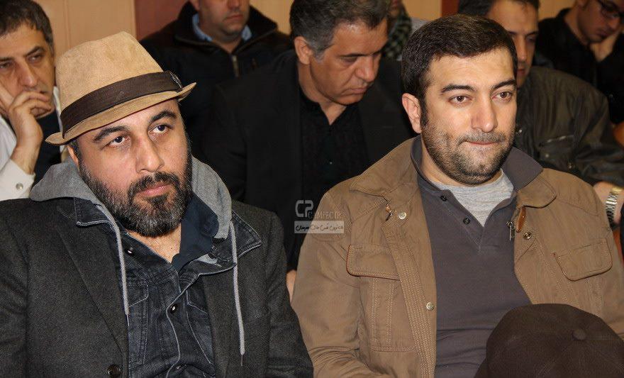 رضا عطاران و احسان علیخانی و مجید صالحی