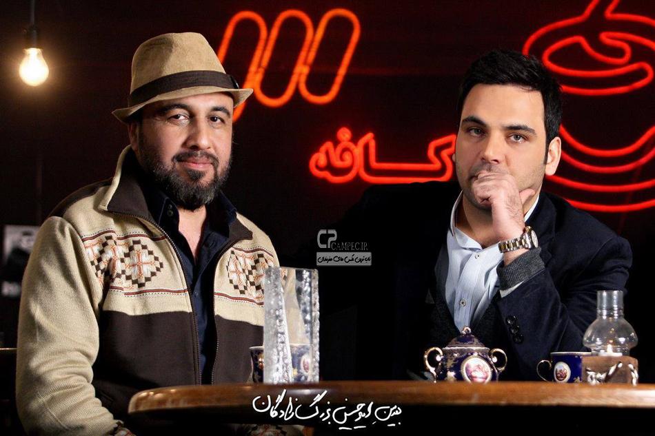 رضا عطاران و احسان علیخانی