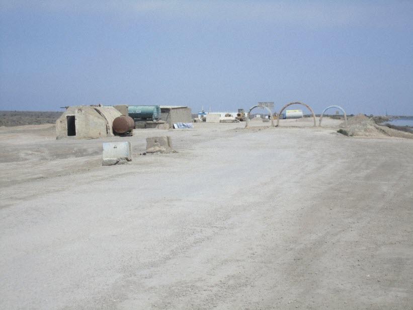 24  یادمان شهدای هور ، مقتل شهید علی هاشمی ، جزیره مجنون