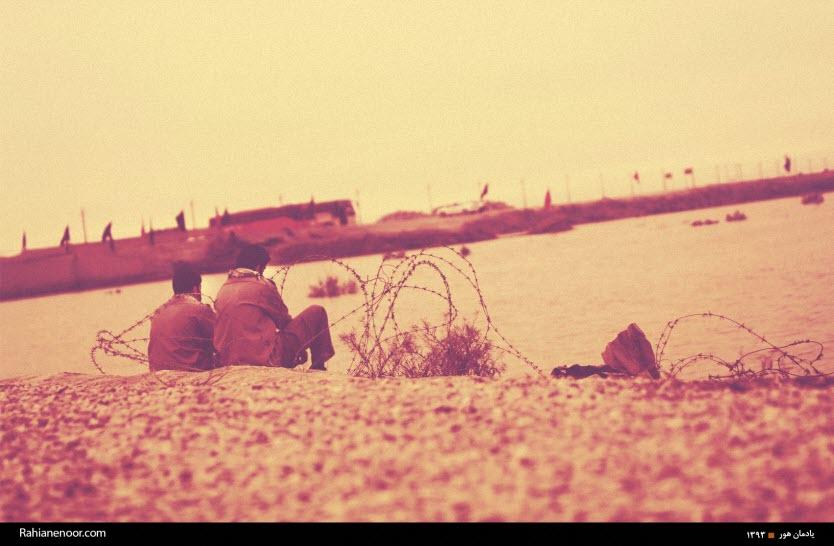 28  یادمان شهدای هور ، مقتل شهید علی هاشمی ، جزیره مجنون