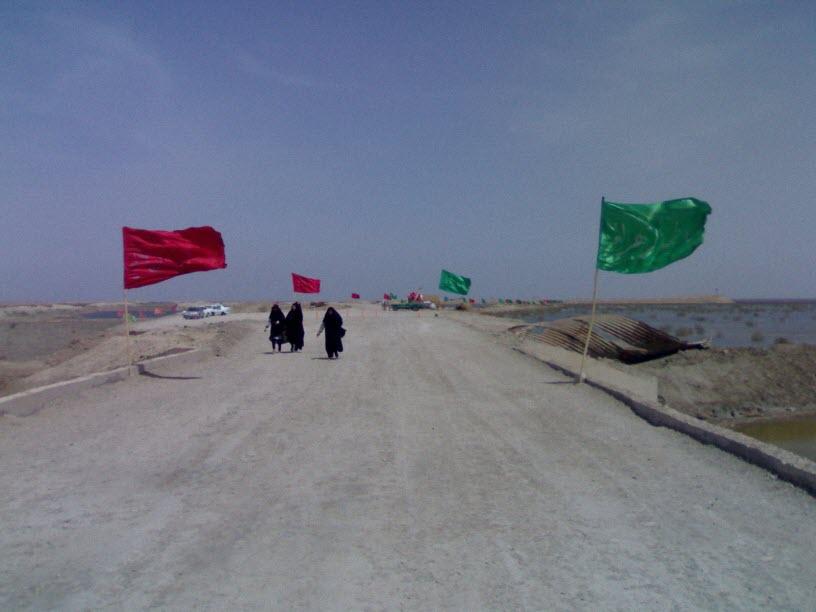 34  یادمان شهدای هور ، مقتل شهید علی هاشمی ، جزیره مجنون