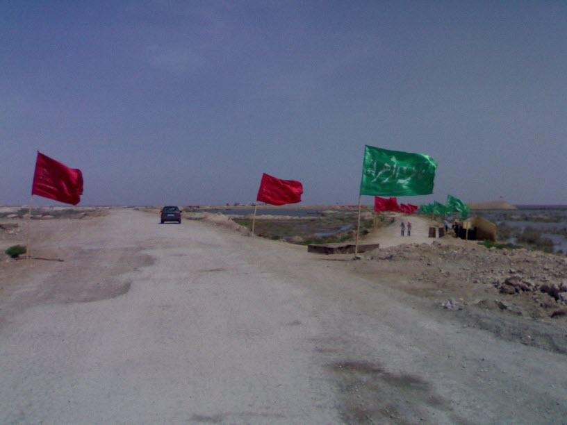 36  یادمان شهدای هور ، مقتل شهید علی هاشمی ، جزیره مجنون