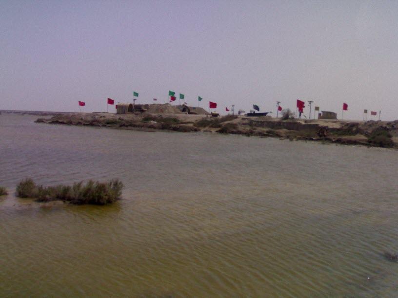 42  یادمان شهدای هور ، مقتل شهید علی هاشمی ، جزیره مجنون