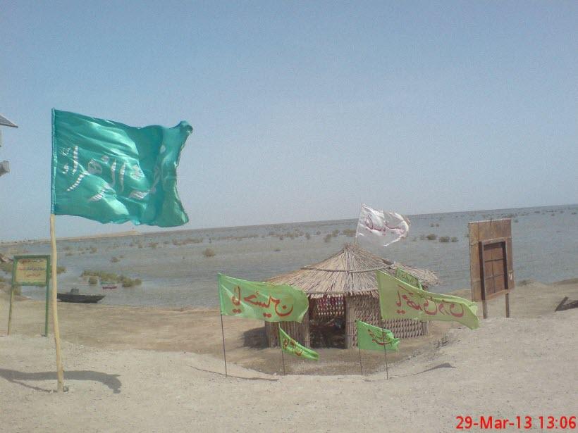 48  یادمان شهدای هور ، مقتل شهید علی هاشمی ، جزیره مجنون