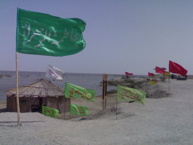 50  یادمان شهدای هور ، مقتل شهید علی هاشمی ، جزیره مجنون