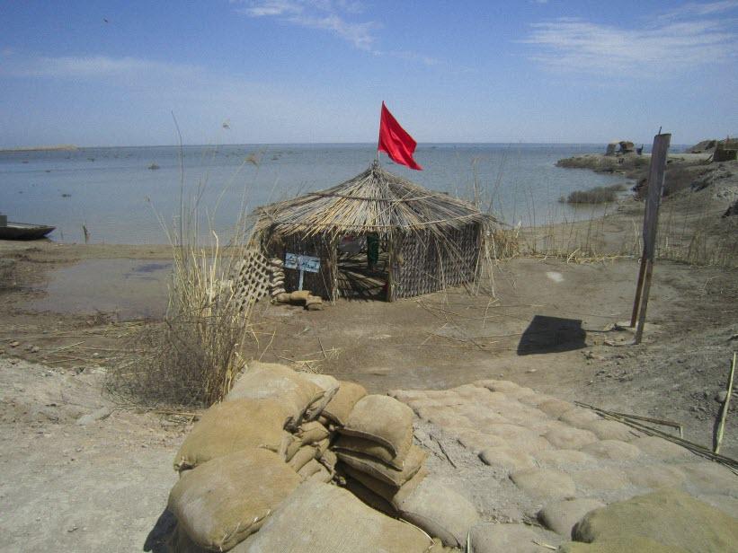 52  یادمان شهدای هور ، مقتل شهید علی هاشمی ، جزیره مجنون
