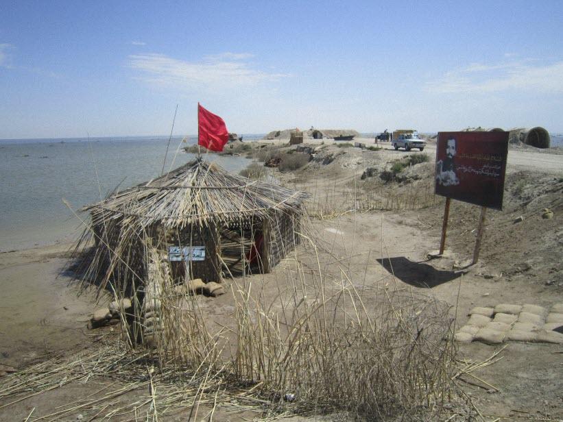 53  یادمان شهدای هور ، مقتل شهید علی هاشمی ، جزیره مجنون