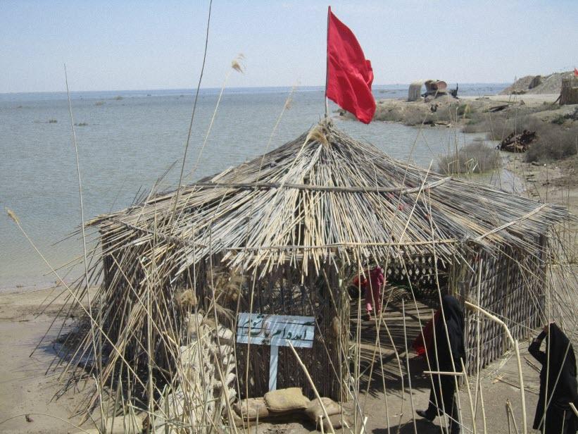 54  یادمان شهدای هور ، مقتل شهید علی هاشمی ، جزیره مجنون