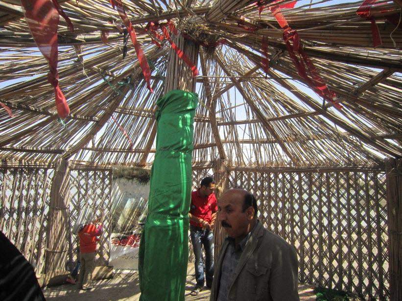 57  یادمان شهدای هور ، مقتل شهید علی هاشمی ، جزیره مجنون