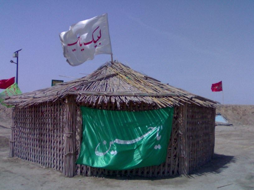 58  یادمان شهدای هور ، مقتل شهید علی هاشمی ، جزیره مجنون