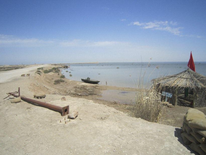 63  یادمان شهدای هور ، مقتل شهید علی هاشمی ، جزیره مجنون