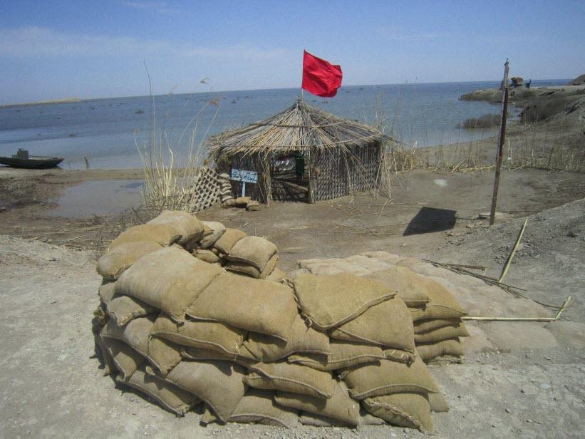 67  یادمان شهدای هور ، مقتل شهید علی هاشمی ، جزیره مجنون