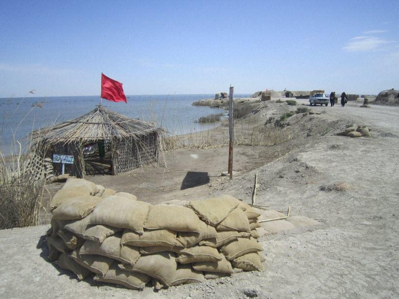 68  یادمان شهدای هور ، مقتل شهید علی هاشمی ، جزیره مجنون