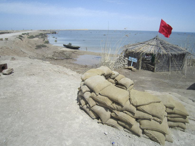 69  یادمان شهدای هور ، مقتل شهید علی هاشمی ، جزیره مجنون