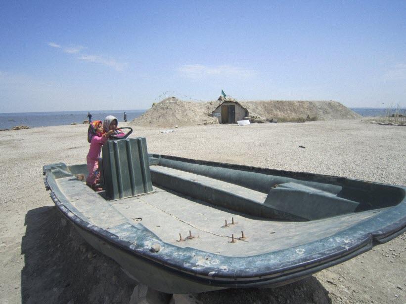 79  یادمان شهدای هور ، مقتل شهید علی هاشمی ، جزیره مجنون