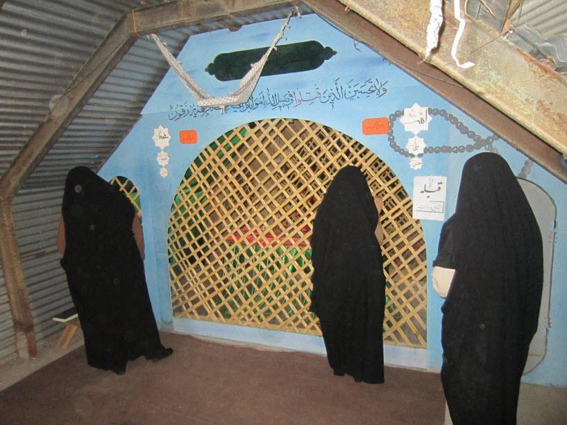 92  یادمان شهدای هور ، مقتل شهید علی هاشمی ، جزیره مجنون
