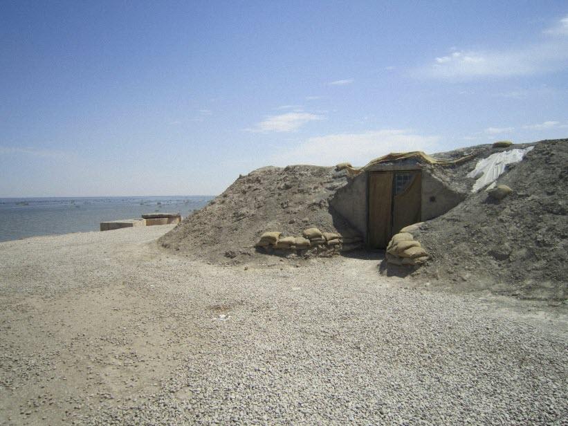 106  یادمان شهدای هور ، مقتل شهید علی هاشمی ، جزیره مجنون