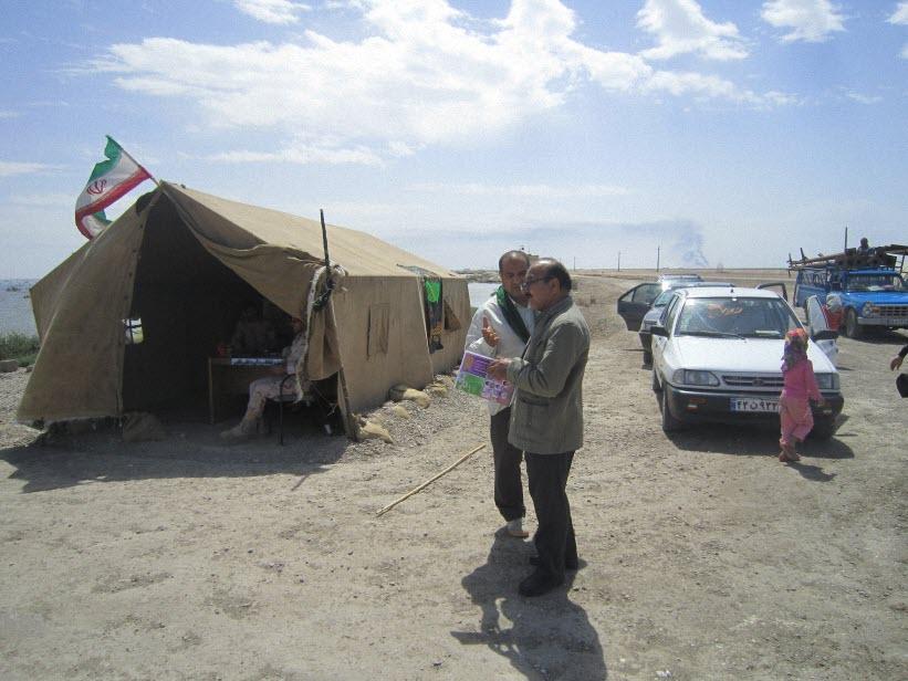 109  یادمان شهدای هور ، مقتل شهید علی هاشمی ، جزیره مجنون