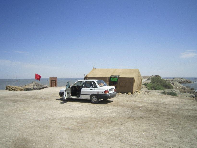 111  یادمان شهدای هور ، مقتل شهید علی هاشمی ، جزیره مجنون