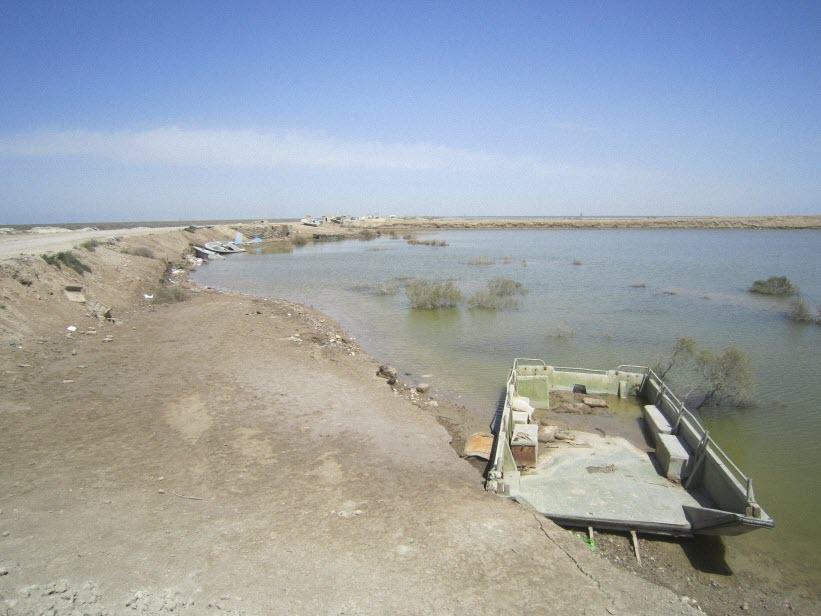 112  یادمان شهدای هور ، مقتل شهید علی هاشمی ، جزیره مجنون