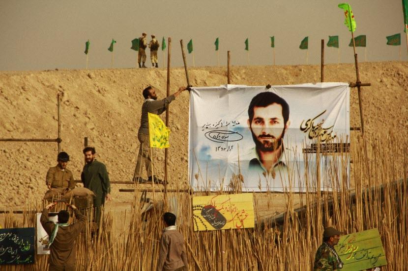 115  یادمان شهدای هور ، مقتل شهید علی هاشمی ، جزیره مجنون