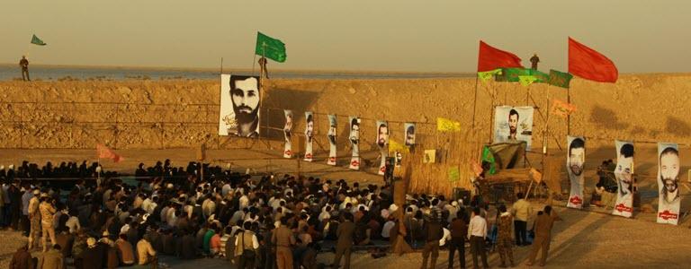 125  یادمان شهدای هور ، مقتل شهید علی هاشمی ، جزیره مجنون