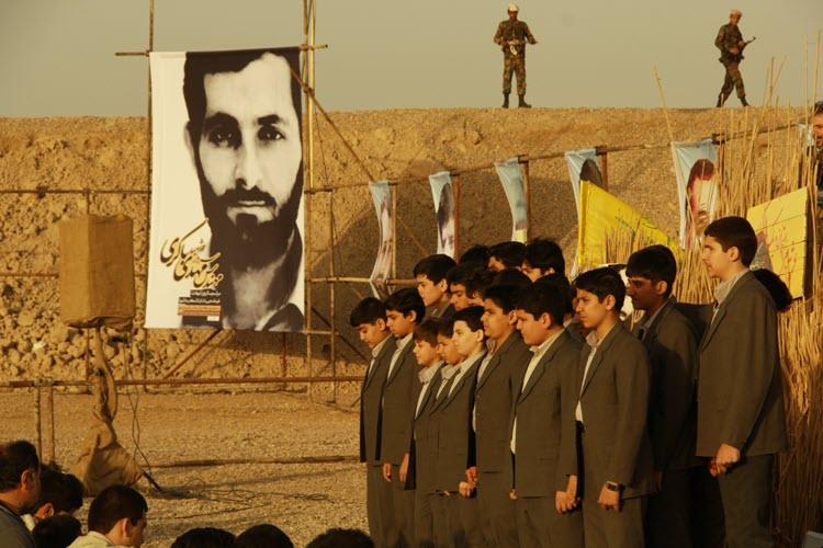 128  یادمان شهدای هور ، مقتل شهید علی هاشمی ، جزیره مجنون