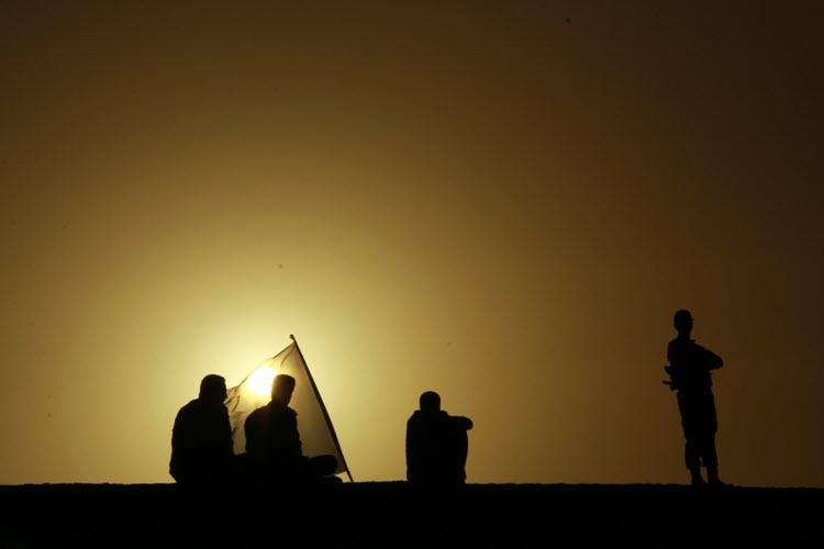 130  یادمان شهدای هور ، مقتل شهید علی هاشمی ، جزیره مجنون