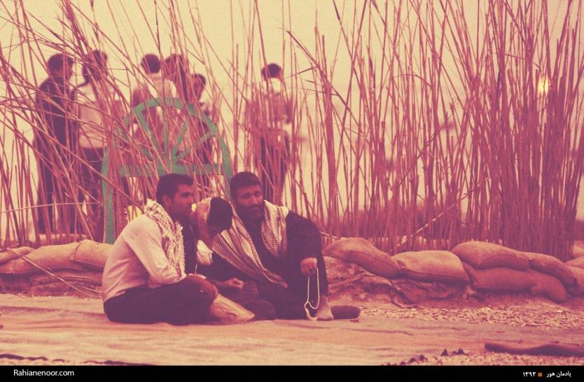 138  یادمان شهدای هور ، مقتل شهید علی هاشمی ، جزیره مجنون