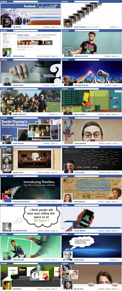 کاورهای فیسبوک ورژن 1