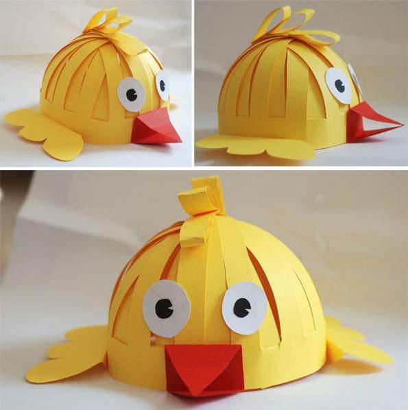 کلاه کاغذی حیوانات برای کوچولوها