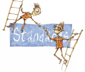 کاریکاتوری در رابطه با استاندارد