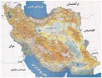 نقشه راههای ایران