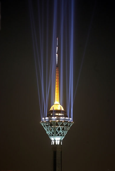 عکس برج میلاد تهران