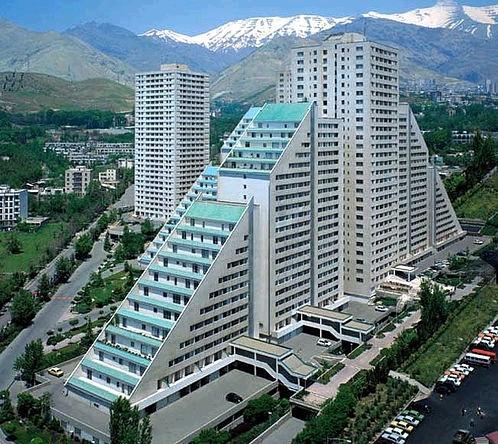 عکس برجهای تهران