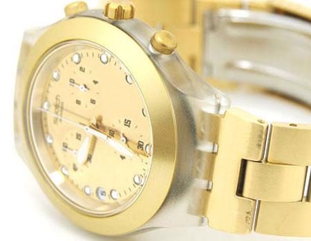 خرید ساعت مچی اینترنتی طلایی