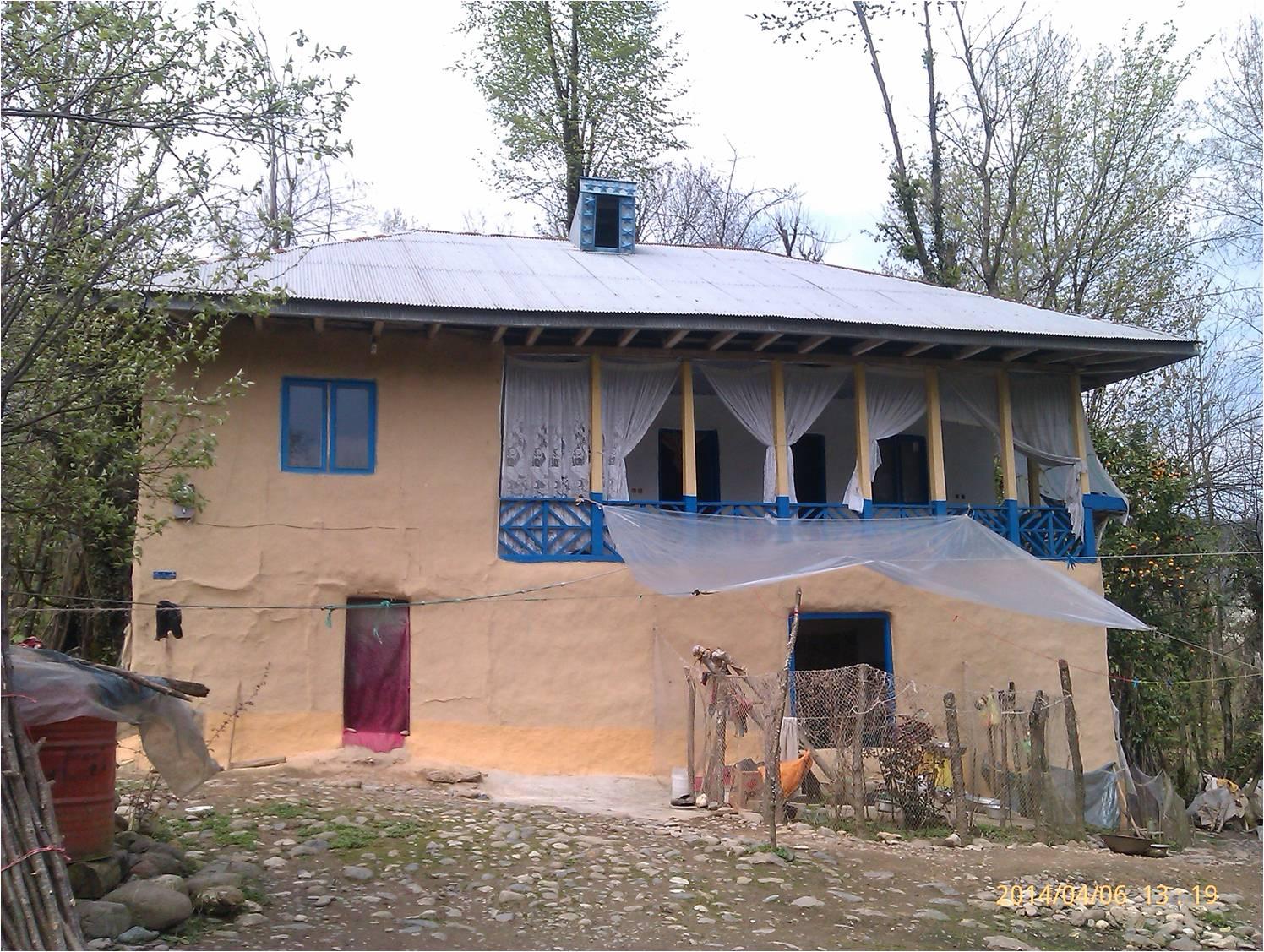 تصویر زیبا از خانه روستای شمال کشور