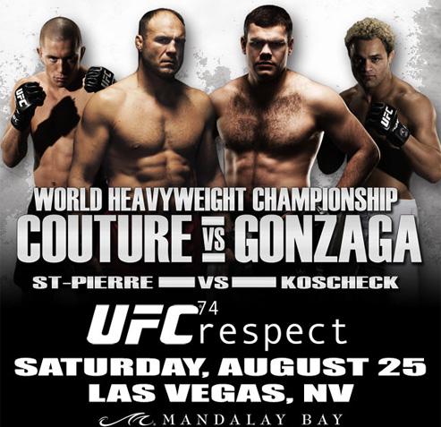 دانلود یو اف سی 74 | UFC 74 - Respect