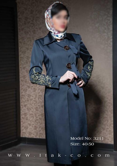 جدیدترین مدلهای مانتو مجلسی شیك زنانه 1393